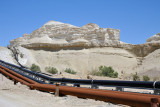 Pipes leading to the Dead Sea Works