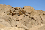Descending Mt Sodom