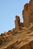 Lot's Wife - a prominent stone formation at the base of Mt Sodom