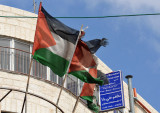 Palestinian flags, Bethlehem