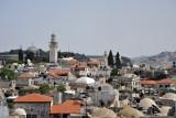 View of the Muslim Quarter with the Ghawanima Minaret