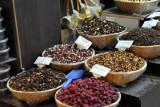 Loose tea in the souq, Muslim Quarter