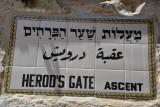 Herod's Gate Ascent, Muslim Quarter