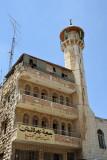 Minaret on Al Wad Street in the Muslim Quarter