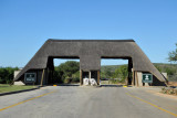 Gate to Addo Elephant National Park