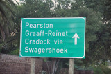 Road from Somerset East to Graaff-Reinet