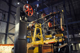 Jigging machine to extract diamonds from the ore, the Big Hole Exhibition Centre