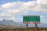 Baden Powell Drive (R310) between Muizenberg and Stellenbosch