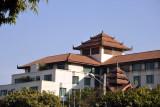 Sedona Hotel, Mandalay, at the southeast corner of the palace moat