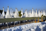 Covered walkway leading to the central stupa, Sandamani Paya