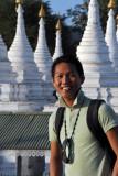 Dennis at Sandamani Paya, Mandalay