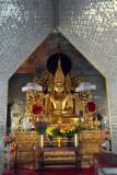 Principle Buddha image at Sandamani Paya