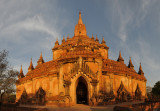 Panoramic view of the western façade of Sulamani Pagoda, Bagan