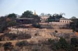 Serpentine road climbing Sagaing Hill
