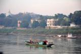 Boat traffic at Sagaing