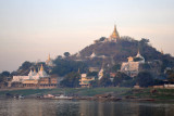 Sagaing Hill and waterfront