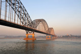 The New Sagaing Bridge over the Irrawaddy River
