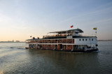 The Malikah fast ferry does Mandalay-Bagan in just over 10 hours