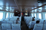 The cabin of the Malikha 2 Ferry