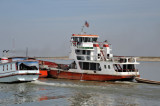 Tugboat on the Irrawaddy River
