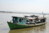 Boat on the Irrawaddy River