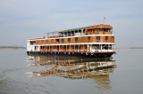 The luxury RV Paukan, another member of the six-strong Pandaw River Cruises fleet