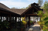 Dining pavilion, Popa Mountain Resort