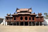 Wooden monastery of Shwe Yan Pyay (Shwe Yaunghwe Kyaung)
