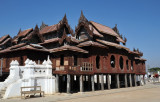 Wooden ordination hall, Shwe Yan Pyay monastery, Nyaungshwe