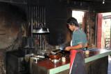 Kitchen of Daw Nyunt Yee Restaurant