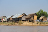 Return trip up the Nan Chaung Canal after visiting Inle Lake