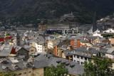 Andorra la Vella, looking towards the Caldea