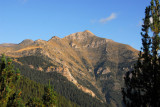 Pic Alt de la Capa (2572m) from Carreta del Coll de la Botella, Andorra
