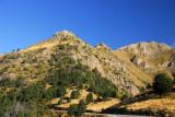 Pic Alt de la Capa on the right (2572m) Andorra