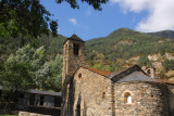 Sant Martí de la Cortinada, romanesque church (N42 34 35.9/E001 31 03.8)