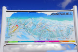 Map of the Grandvalira ski region, Andorra