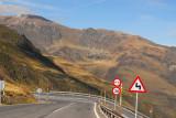 Descending from Port d'Envalira to Pas de la Casa, Andorra