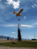Piper cub reborn as a Montana windvane