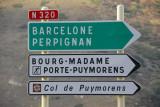 France route N320 Barcelone & Perpignan, Col de Puymorens