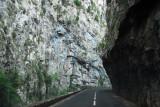 Gorges de St-George, scenic route D118 near Axat