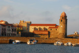 Breakwater and Church of Notre-Dame des Anges, Collioure