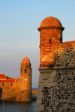 Royal Castle and Church, Collioure
