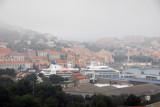 Seabourn Legend docked Port-Vendres