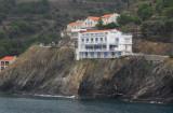 Clifftop hotel, Cerbère