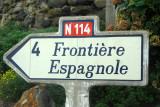 Frontière Espagnole - Spainish border, N114