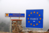 French-Spanish border between Cebère and Portbou