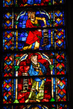 Stained glass, St. Nazaire, Carcassonne
