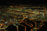 Dubai at night, Dubai International Airport