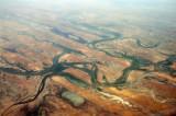 Niger Inland Delta, Mali, looking southeast at Gabongo and Fata (16 10 38N/003 17 07W)