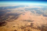 Algerian Sahara looking NW seen from 23 54N/006 20E